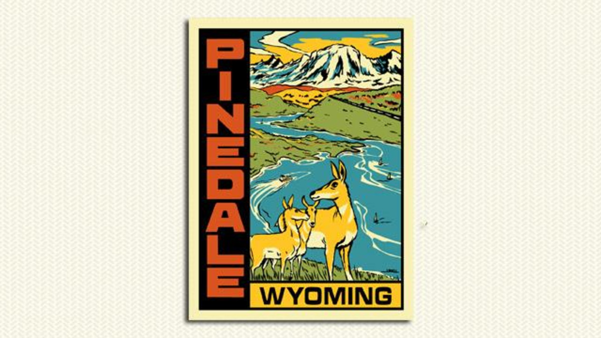Pinedale Sticker