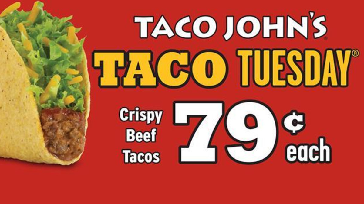 Taco John's on Carey Ave