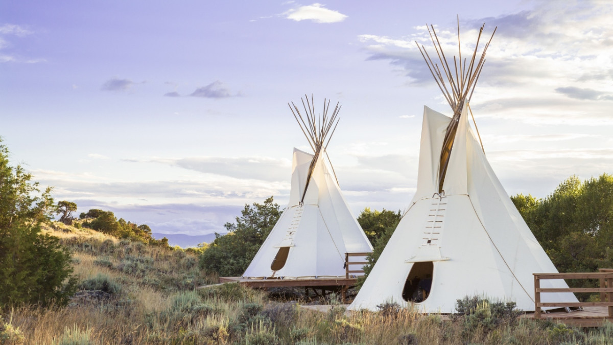 Spa Treatments in our traditional teepees
