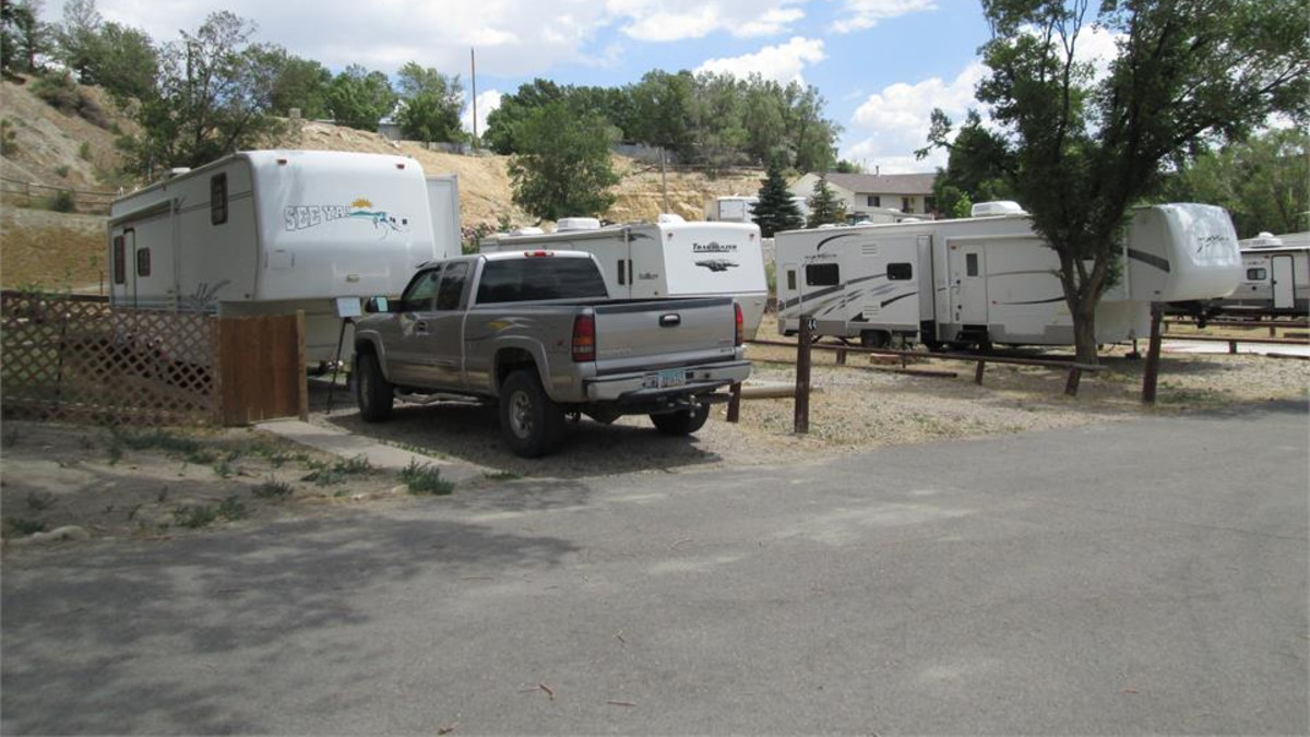 Sites for all types of campers at The Travel Camp.