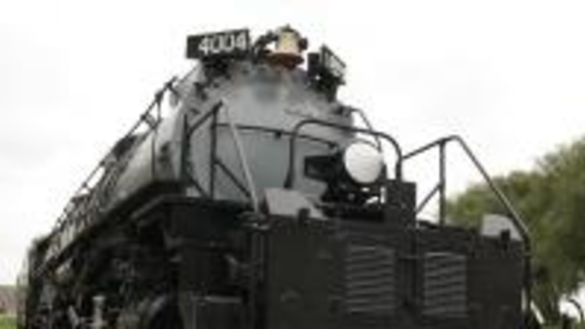 Big Boy Steam Engine