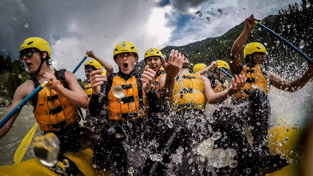 Rafting is the Top Rated Activity in Jackson