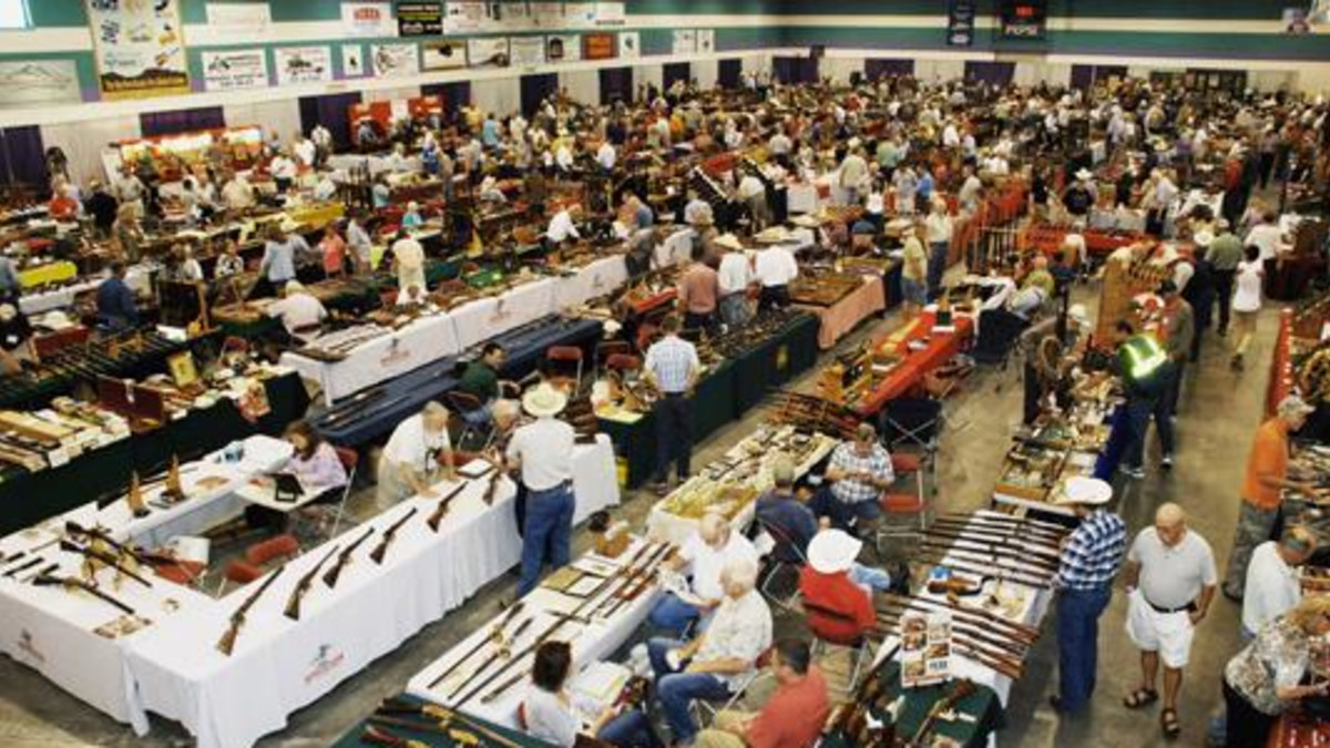 Winchester Gun Show held at the Riley Arena