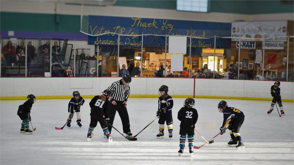 Mite Tournament held at the Riley Arena