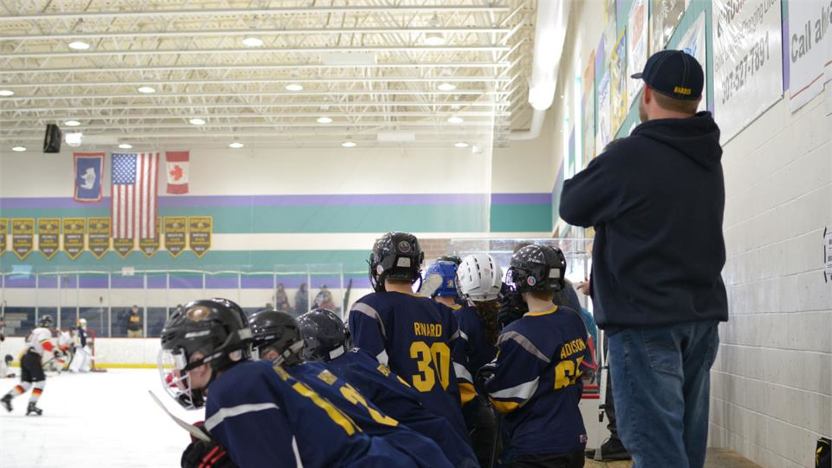 Bantam Youth Hockey Tournament held at the Riley Arena
