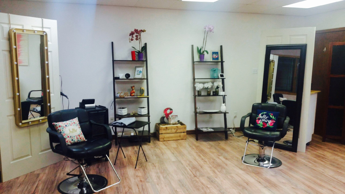 Salon Services, hair color, cut, style