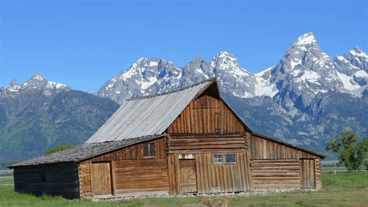 Moulton Barn Grand Teton Park