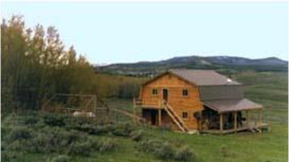 Cow Cabins Pinedale Travel Wyoming That S Wy
