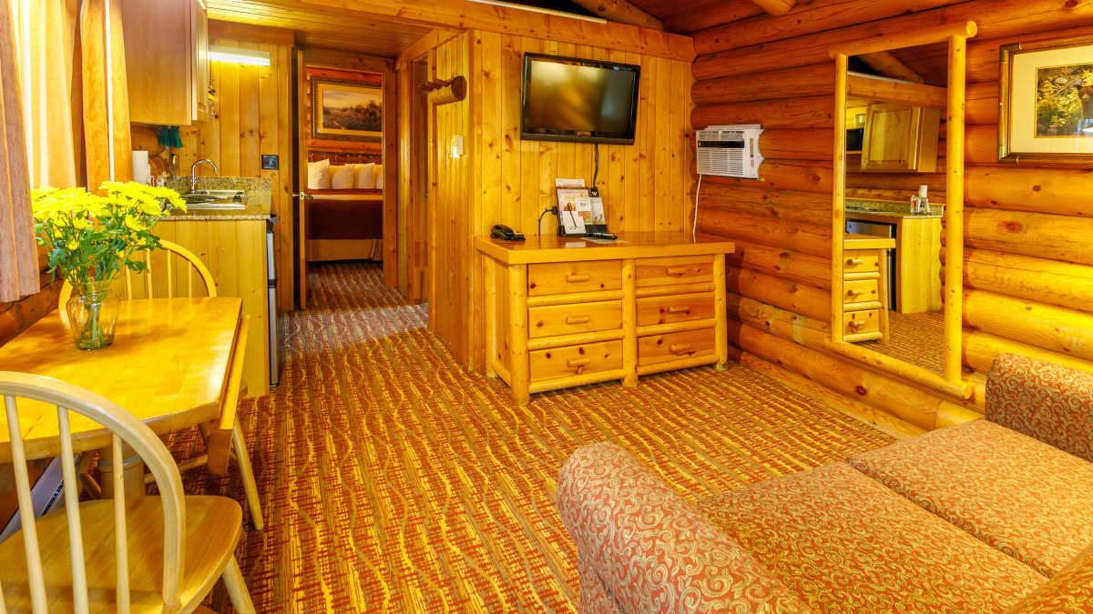 King Deluxe Cabin - Living Area