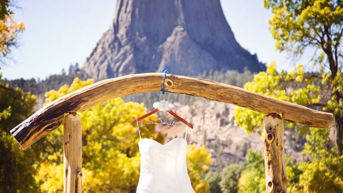 Devils Tower Wedding Dress