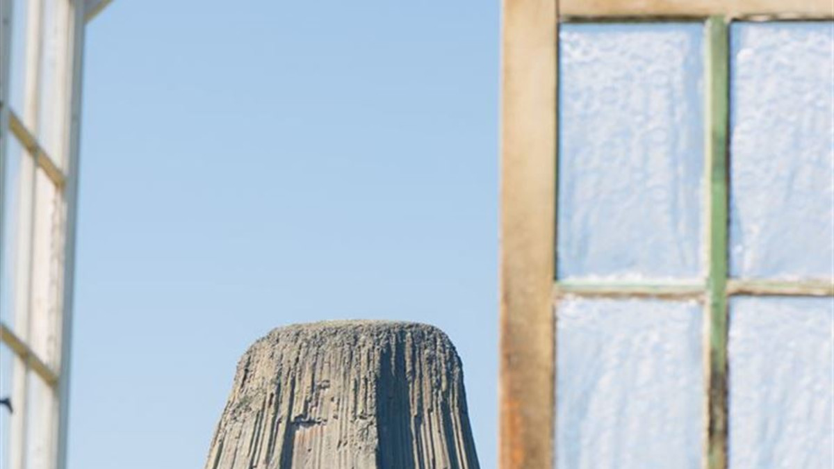 Devils Tower Wedding Doors