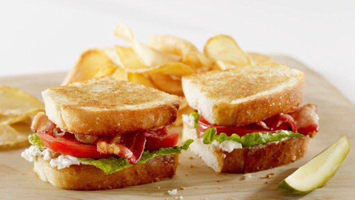 Blt and Goat Cheese