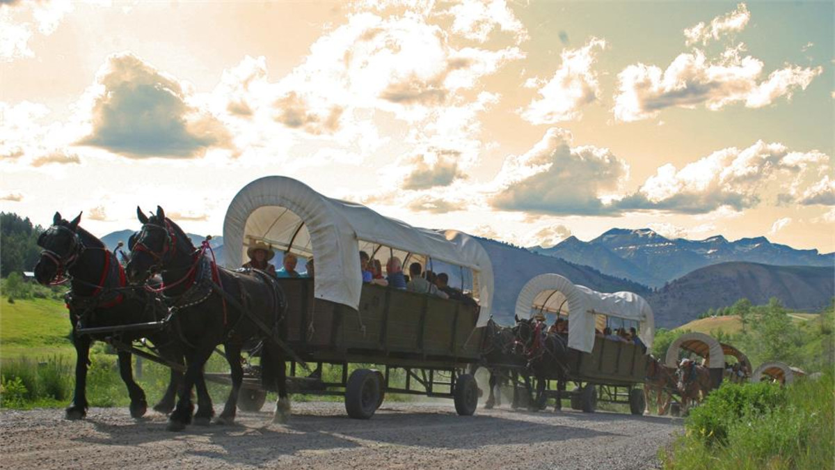 Covered Wagon Ride and Cookout