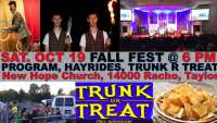 Fall Fest, Comedian, Trunk R Treat