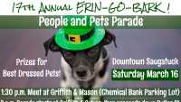 17th. Annual ERIN-GO-BARK! St. Patrick's Day Parade!