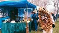 Woody Pick-Me is always a hit at the Boyne City Morel Mushroom Festival