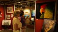 Tour the delightful galleries in downtown Petoskey