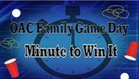 OAC Family Game Day graphic