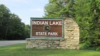 Indian Lake Summer Entrance Sign