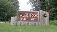 Palms Book State Park Summer Entrance Sign