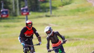Guided lift-accessed downhill mountain biking available.