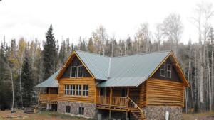 Louis Lake Lodge near Lander, Wyoming
