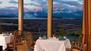 Mural Dining Room at Jackson Lake Lodge