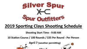 Come have some fun at our sporting clays range.  Everyone is welcome!  Whether you are a beginner or an experienced shooter, break out your shot guns and be ready for a good time!