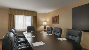 Convenient boardroom for important meetings and business gatherings