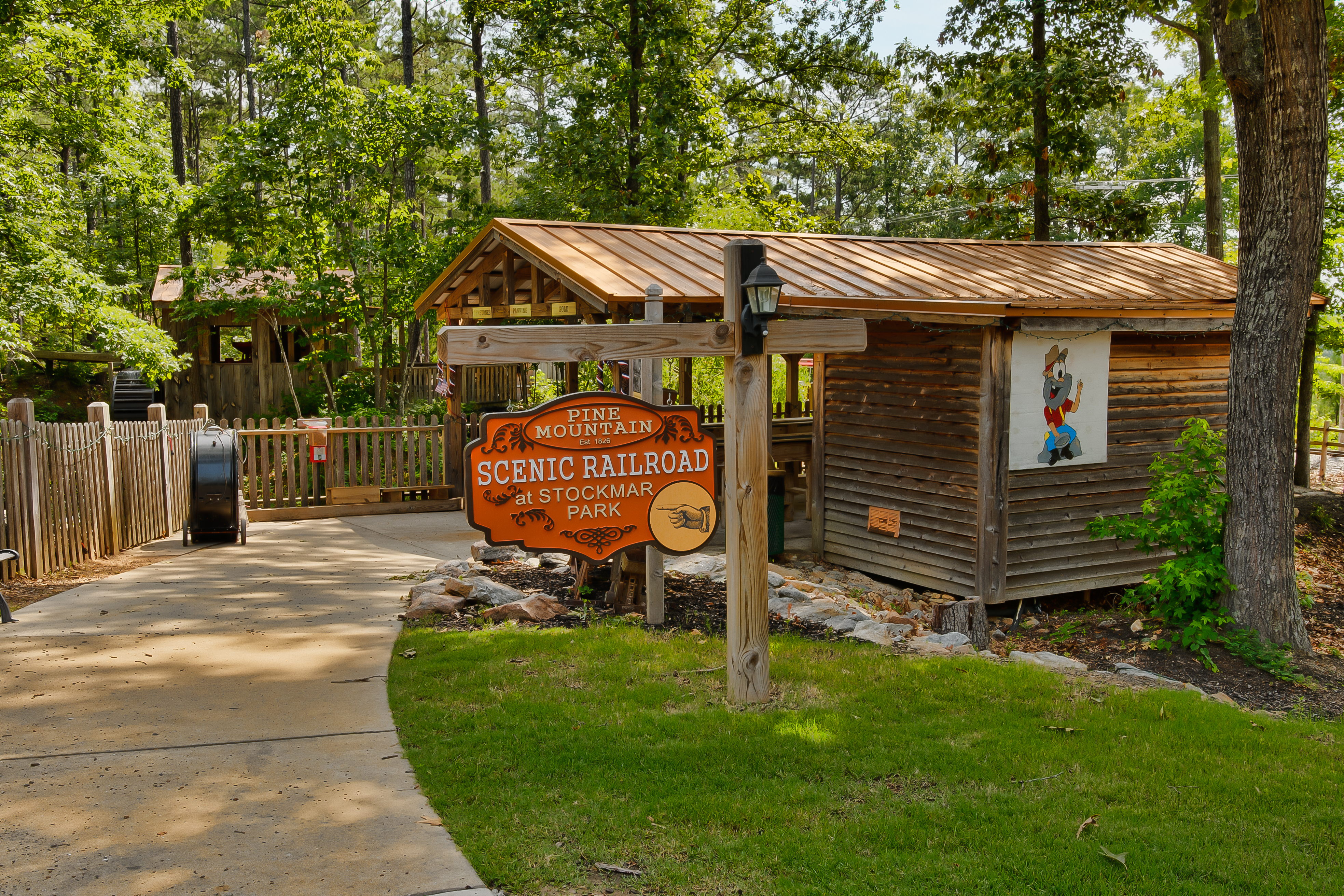 pine mountain gold museum & scenic railroad at stockmar park