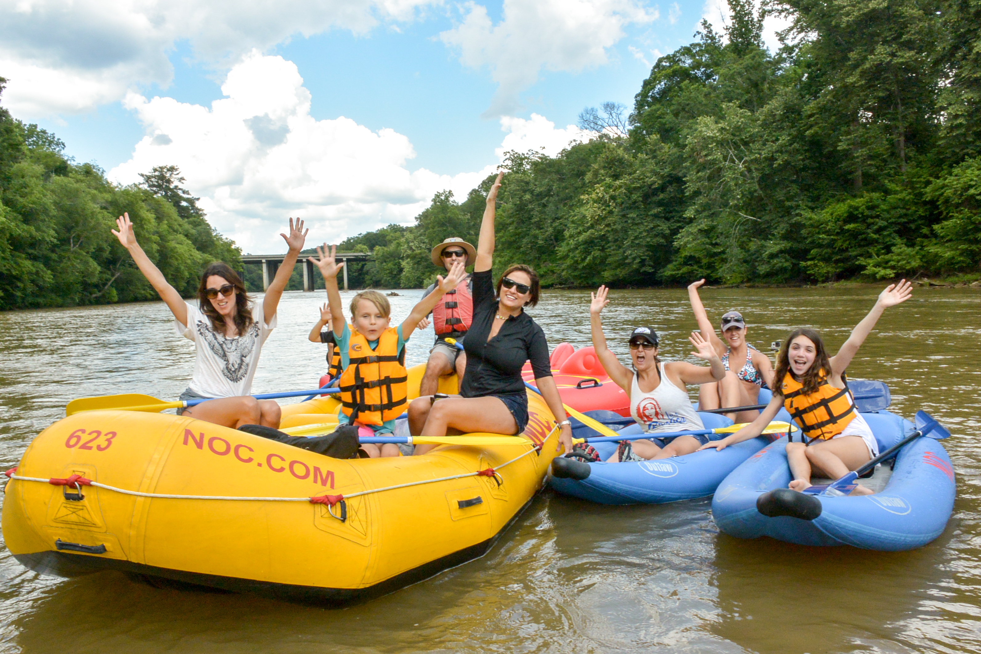 Nantahala Outdoor Center (NOC) - Chattahoochee River