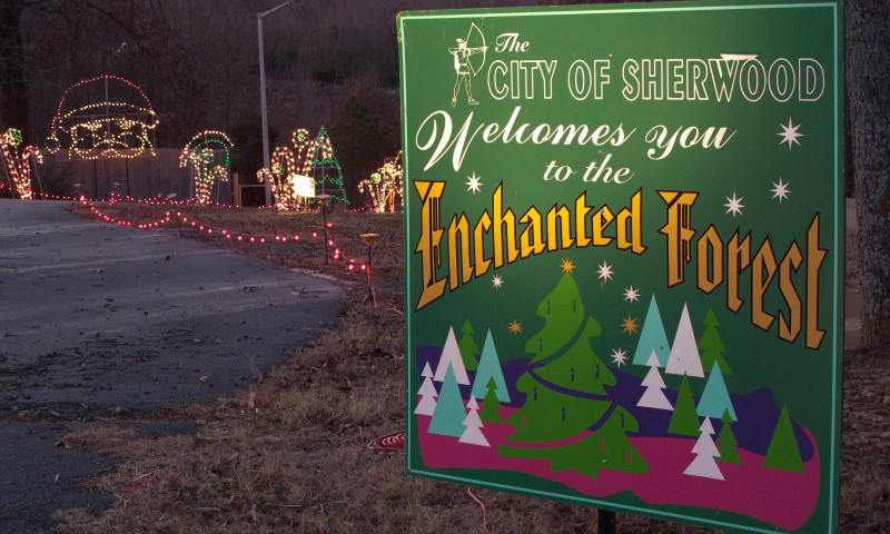 brand new 0d2c1 d62c8 Sherwood's Enchanted Forest Trail of Holiday Lights ...