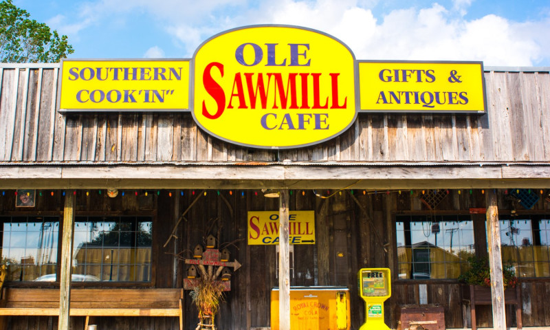 Old Saw Mill Cafe & Country Store | Arkansas com
