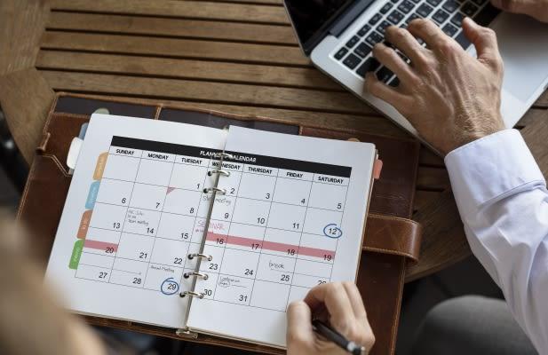 Personal Organizer Management Schedule Planning
