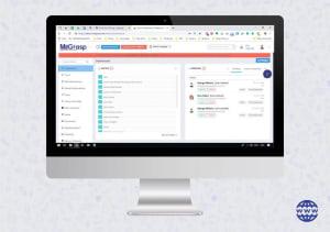 School ERP software Dashboard