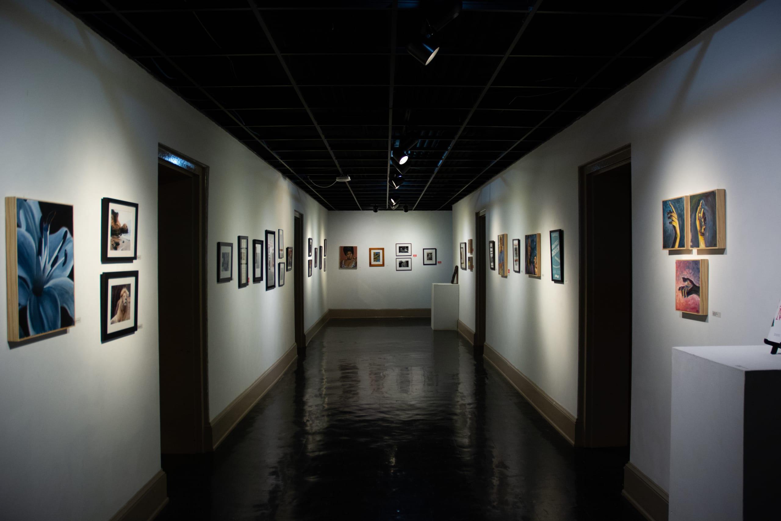 Inside the Milligan Art Gallery