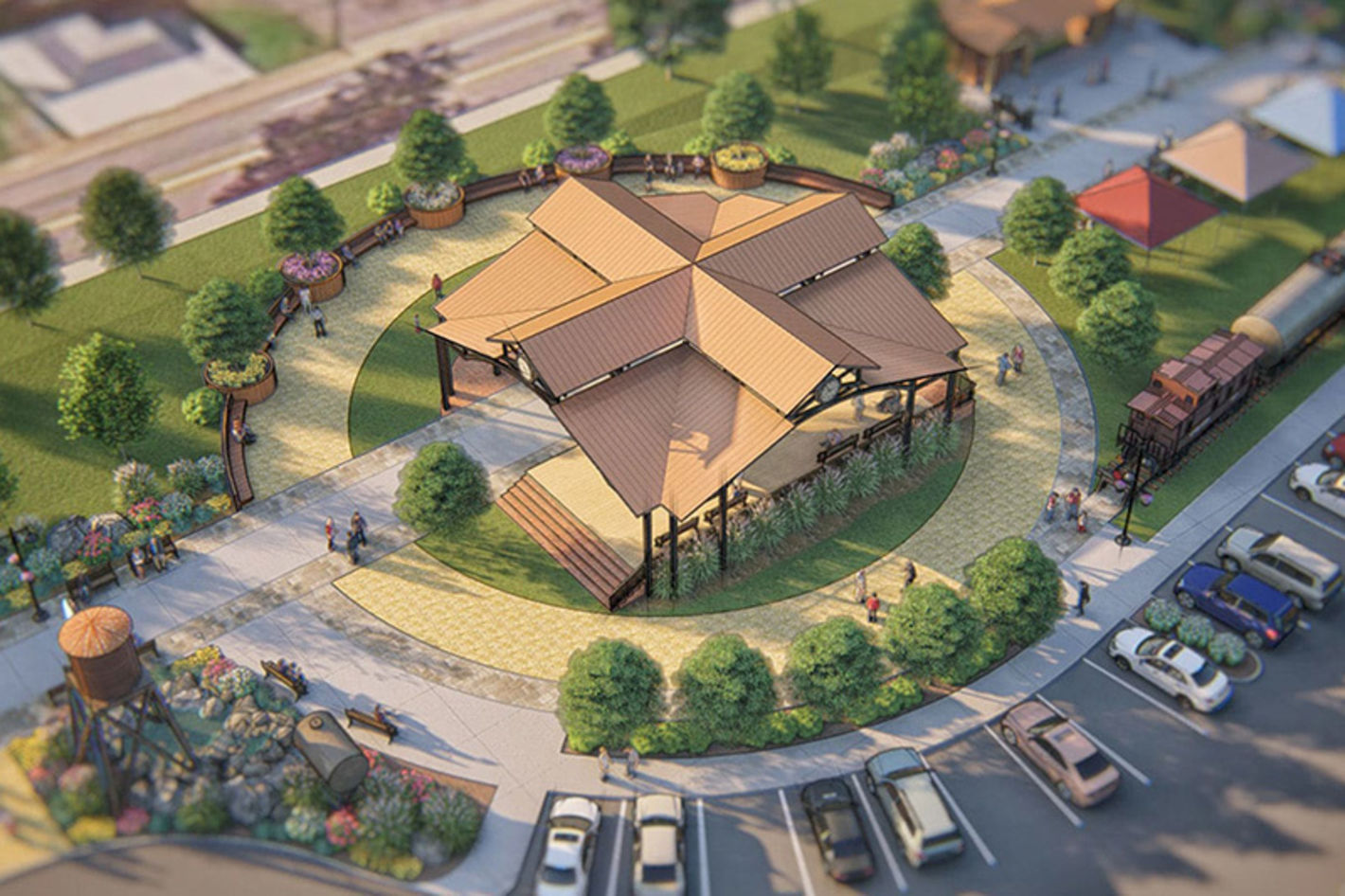 Berkeley Springs Depot Master Plan - Photo