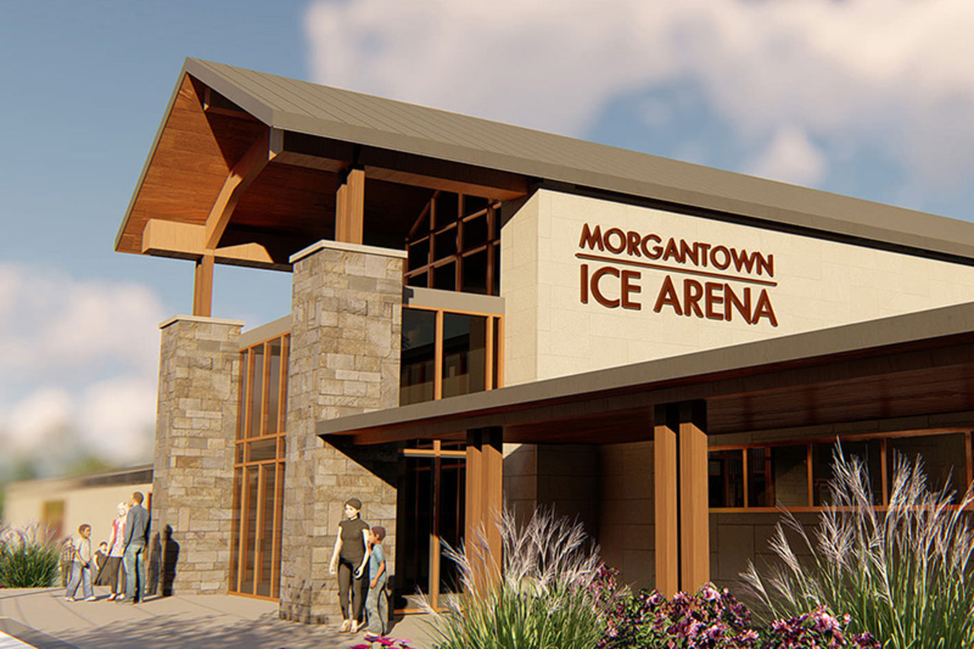Morgantown Ice Arena - Photo