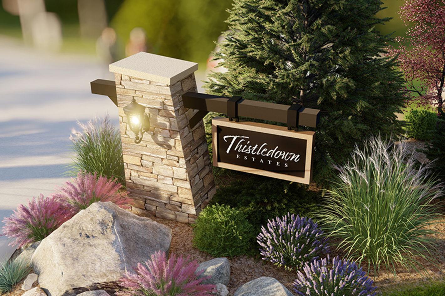 Thistledown Entryway - Photo