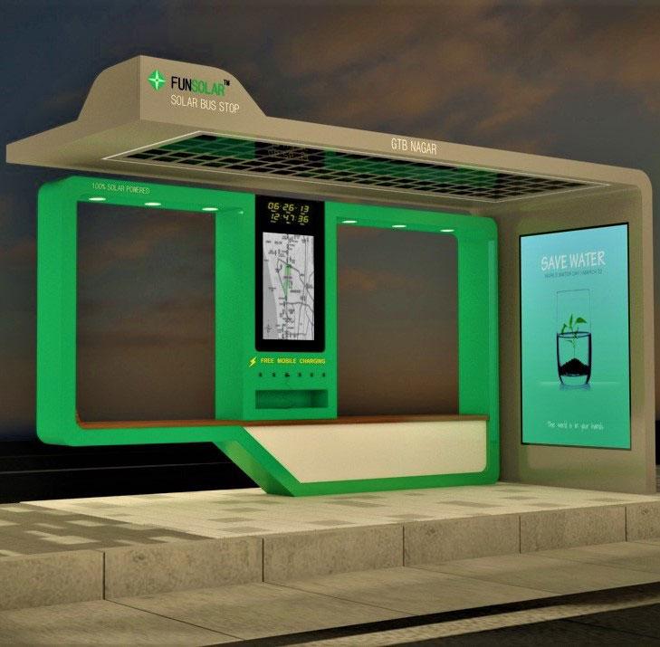 Solar Bus Stop