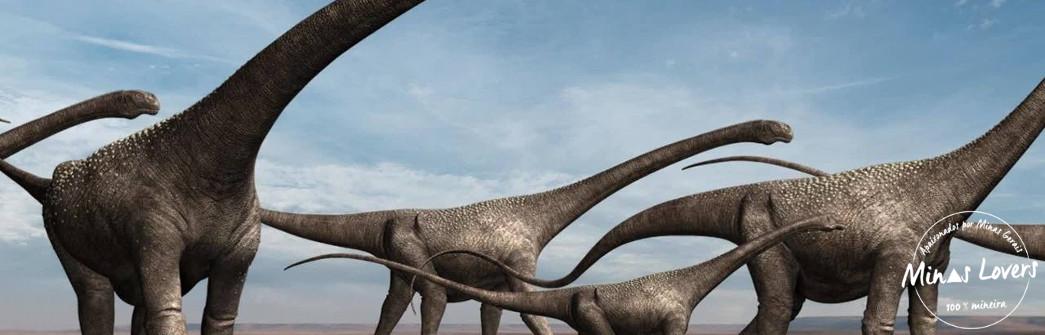 Você sabia que existe dinossauros em Minas?