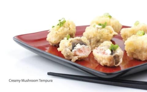 Creamy Mushroom Tempura