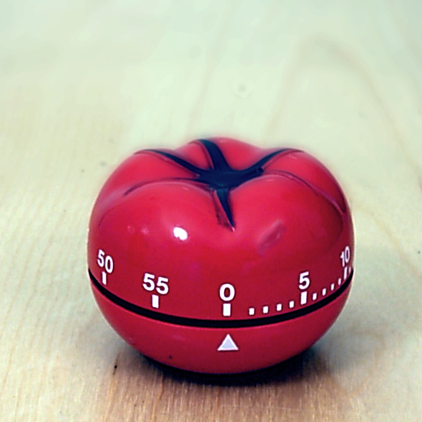 The Pomodoro timer - from Wikipedia