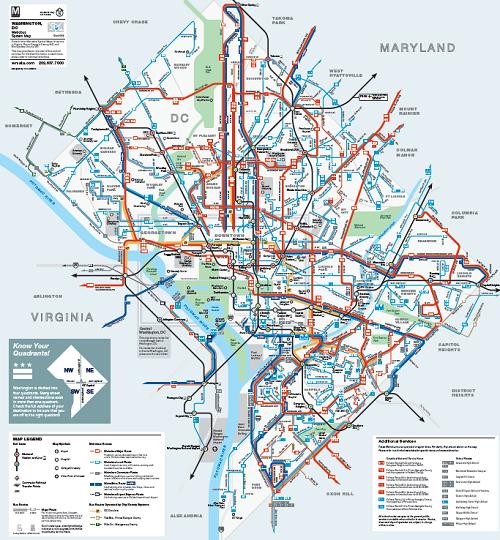 Washington Dc Tram Map