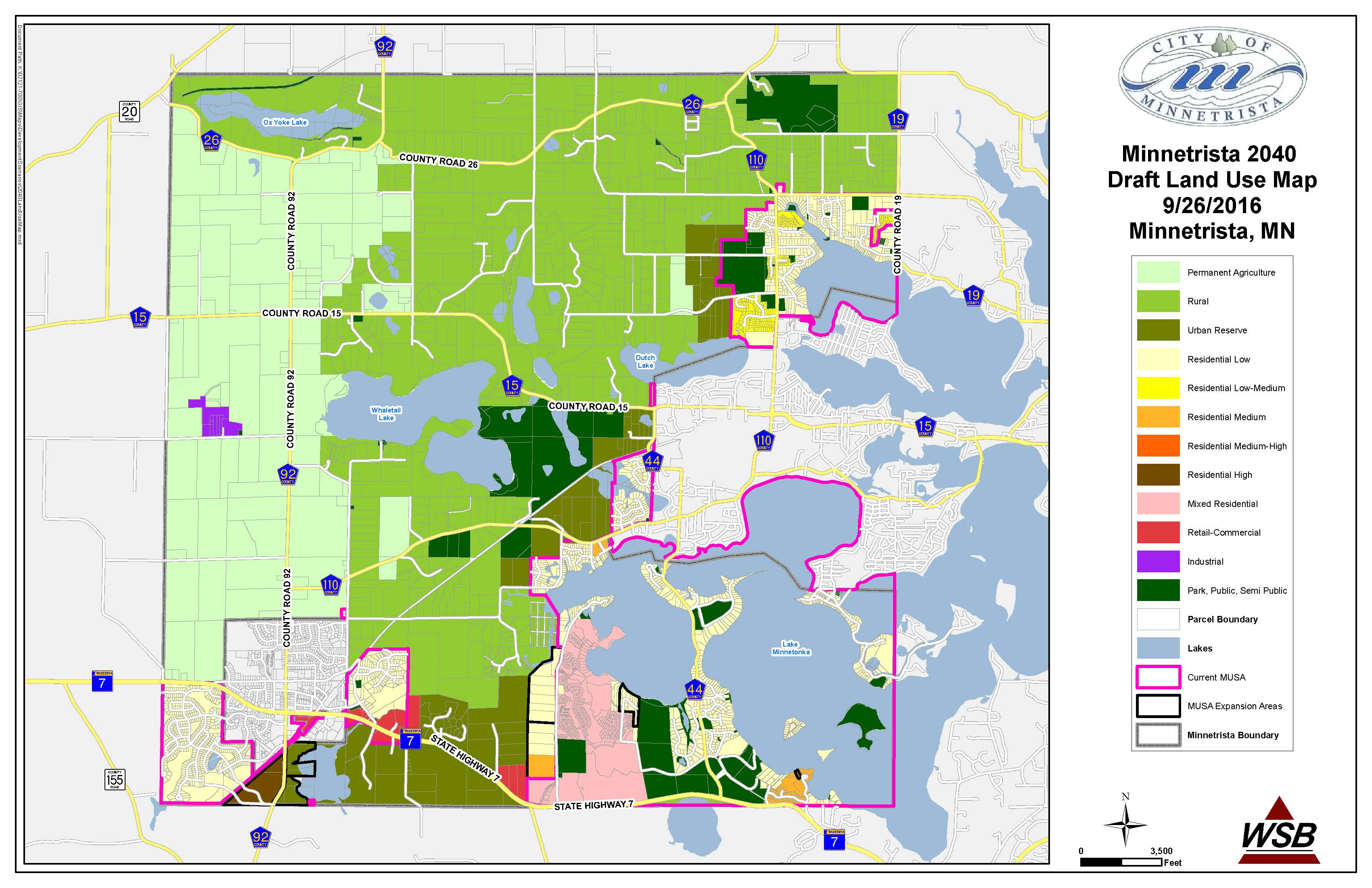 City Of Minnetrista Comprehensive Plan MySidewalk - Image of us map at 2040