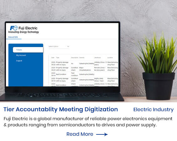 Tier Accountablity Meeting Digitization by mindpooltech