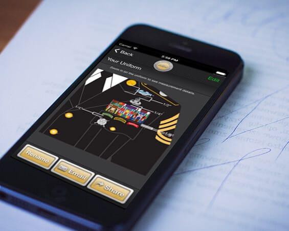 iuniform mobile app by mindpool tech