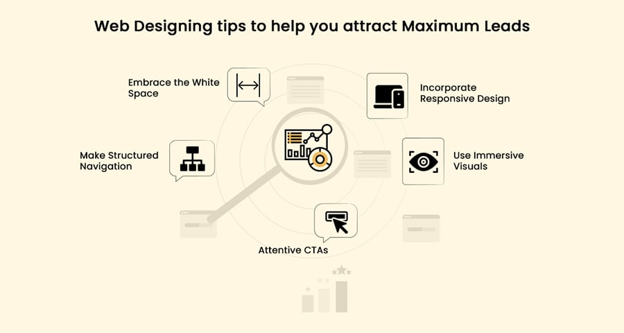 web designing tips to help you attract maximum leads