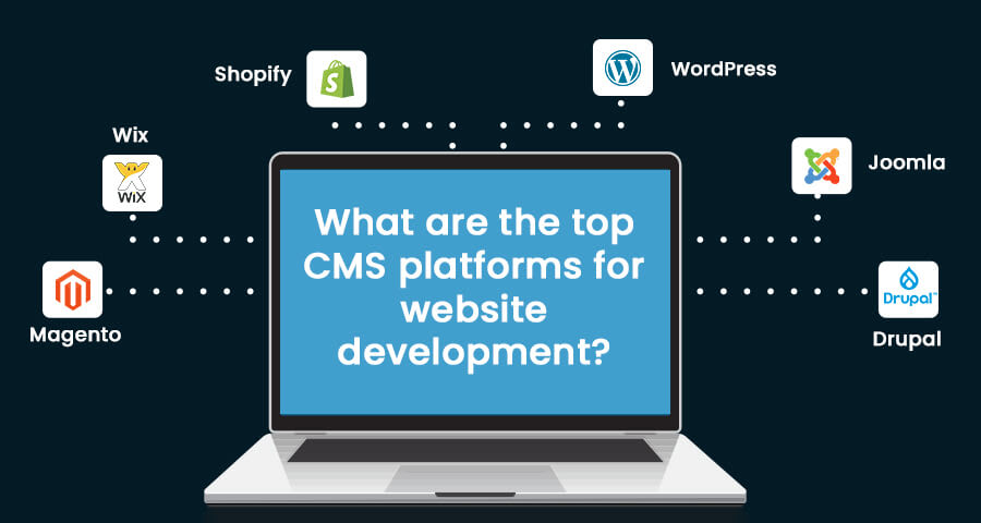 What are the top CMS platforms for website development?