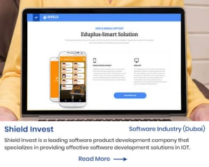shield invest website by mindpooltech